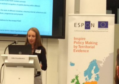 The Impact Lab presenting at the international ESPON conference